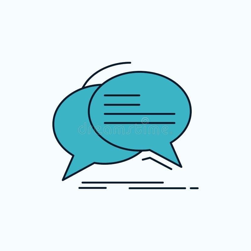 泡影,闲谈,通信,讲话,谈话平的象 r ?? 向量例证