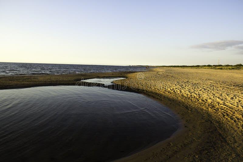 波儿地克的海洋 免版税库存照片