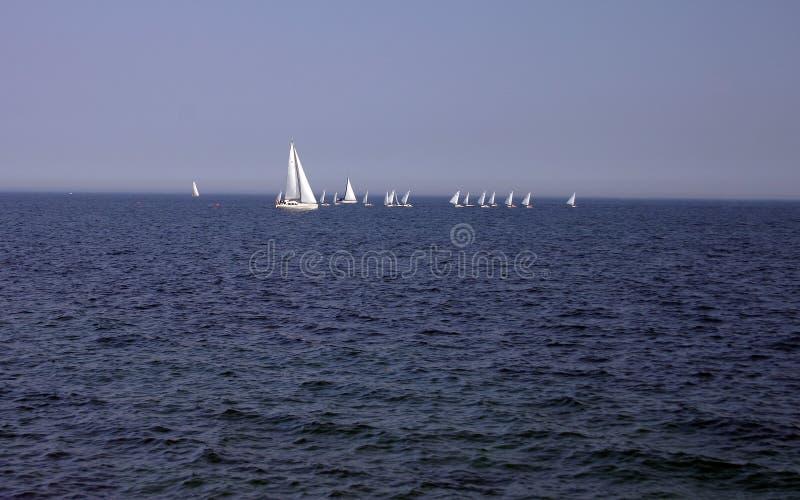 波儿地克的航行海运 库存照片
