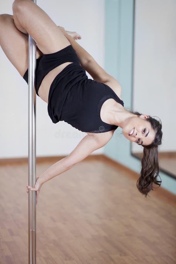 波兰人获得健身的学生乐趣 图库摄影