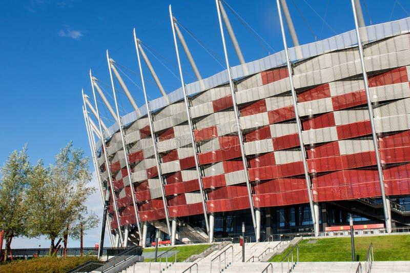 波兰全国体育场在华沙 图库摄影