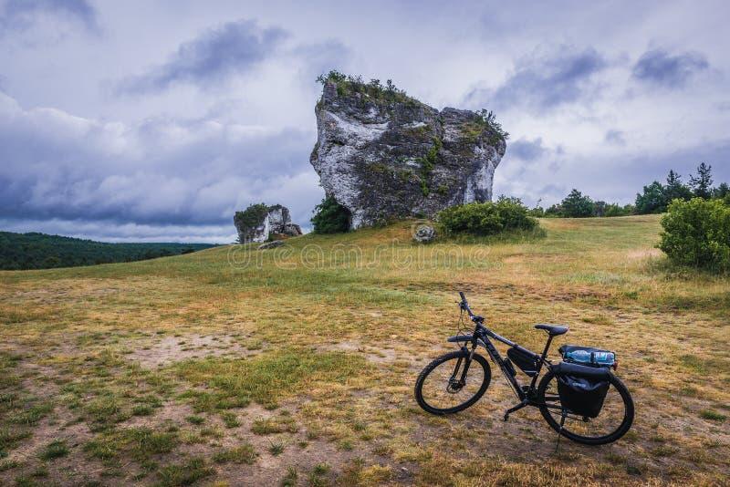 波兰朱拉地区 免版税图库摄影