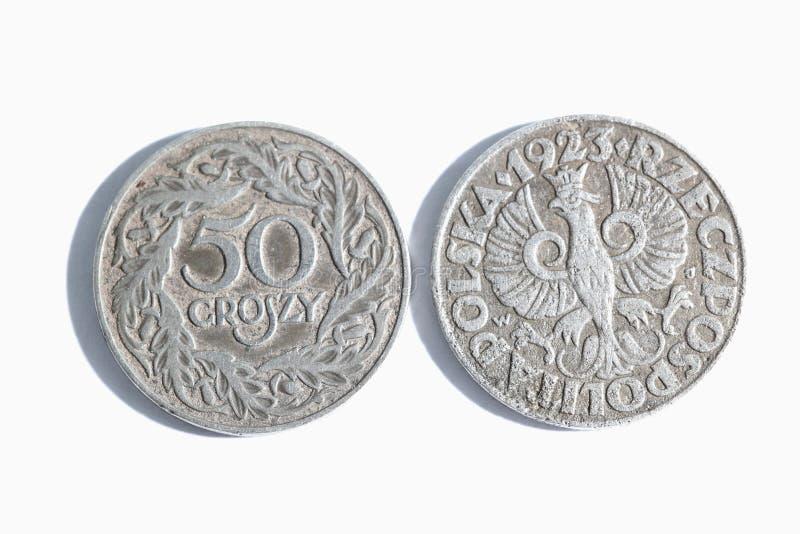 波兰货币 库存照片