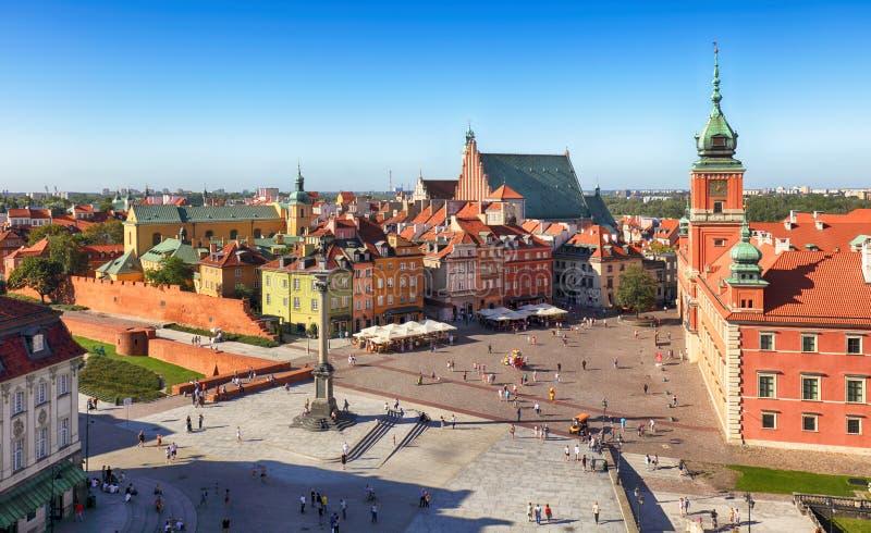 波兰,华沙市 免版税库存照片