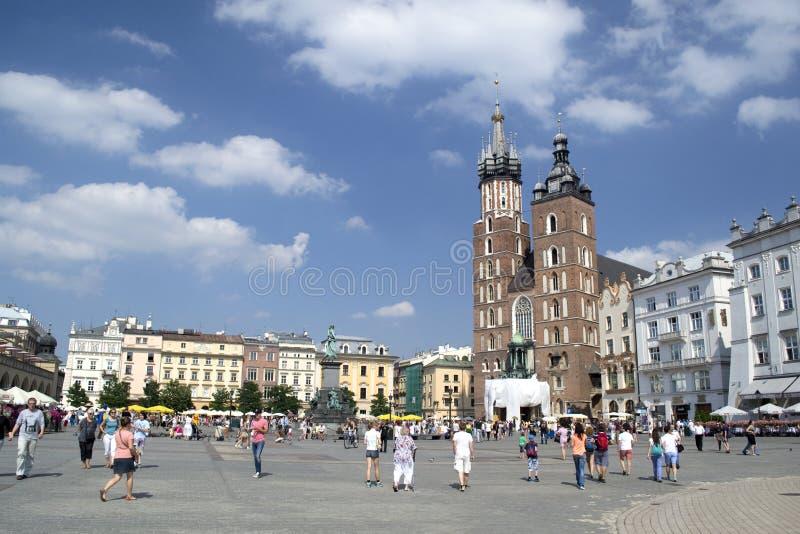 波兰建筑学 图库摄影片