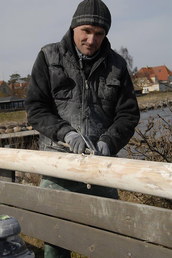 波兰WORKR在丹麦 免版税图库摄影