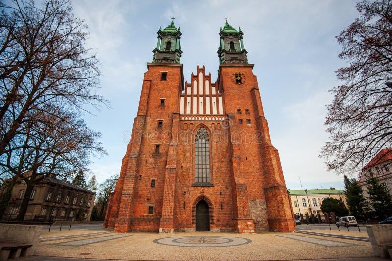 波兹南主教座堂 波兰 波兹南主教座堂、圣彼得和圣保罗大教堂 免版税库存照片