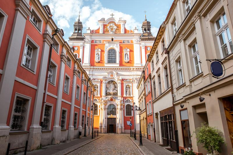 波兹南市在克拉科夫 免版税库存照片