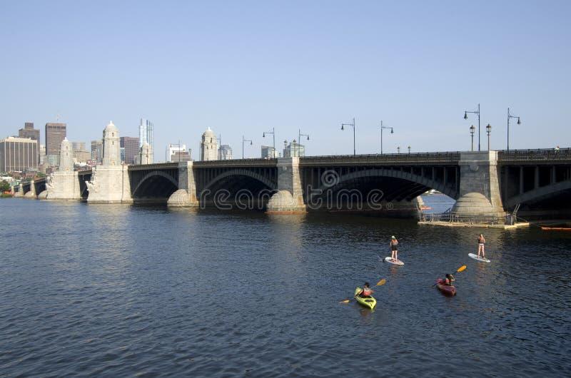 波士顿健康生活城市居民 免版税库存照片