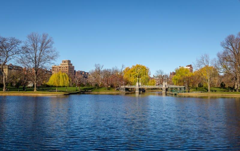 波士顿公园-波士顿,马萨诸塞,美国 库存照片