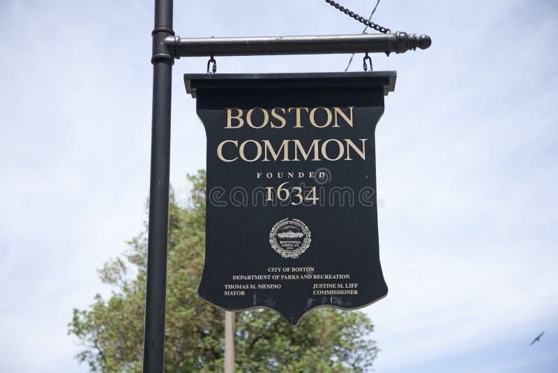 波士顿公用   库存图片