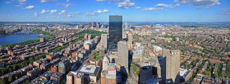 波士顿地平线全景,马萨诸塞,美国 库存图片
