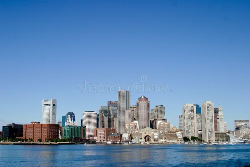 波士顿地平线水 免版税库存照片