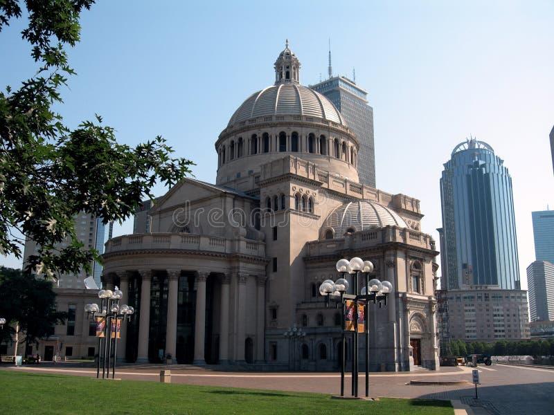 波士顿基督教会科学家 免版税图库摄影