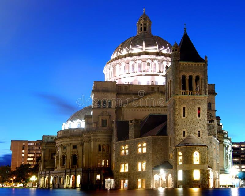 波士顿大教堂 免版税图库摄影