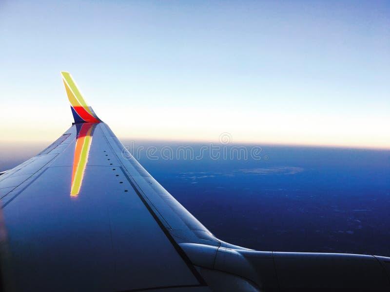 波士顿天空 免版税图库摄影