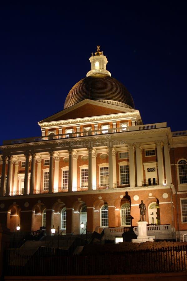 波士顿房子马萨诸塞状态 图库摄影