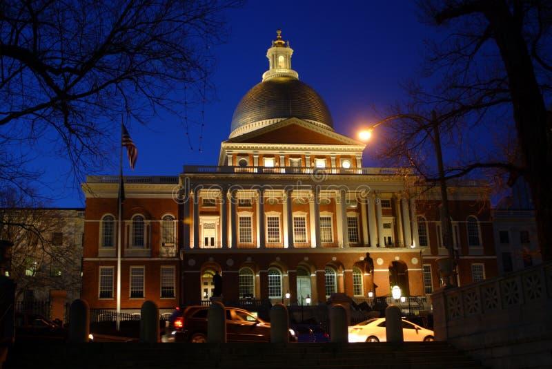 波士顿房子马萨诸塞状态 免版税图库摄影