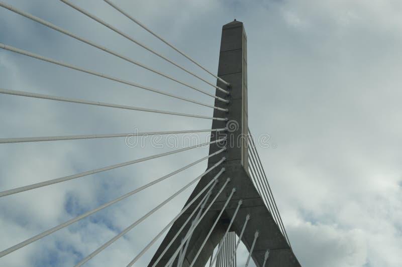波士顿桥梁 库存照片