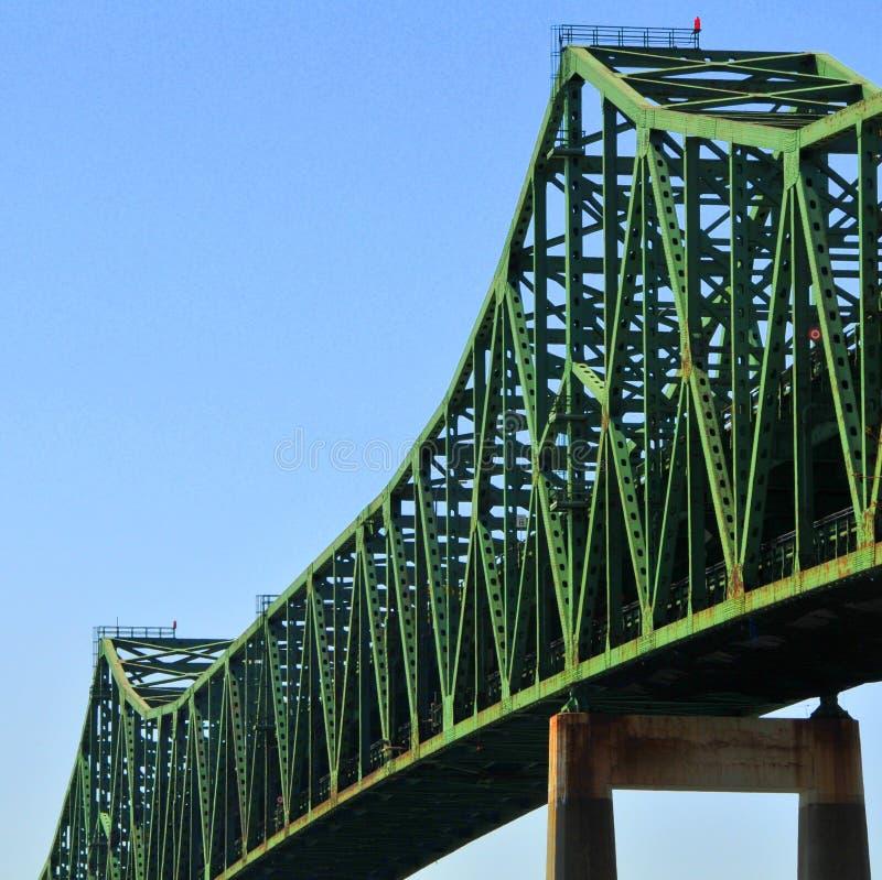 波士顿桥梁ma tobin 库存图片