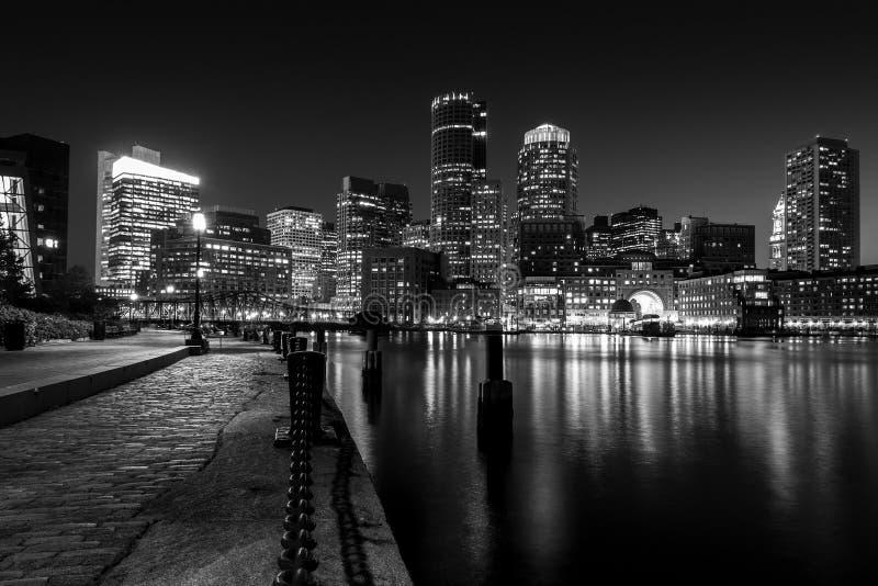 波士顿港口 库存照片