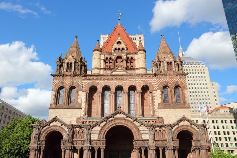 波士顿领港教会 库存图片