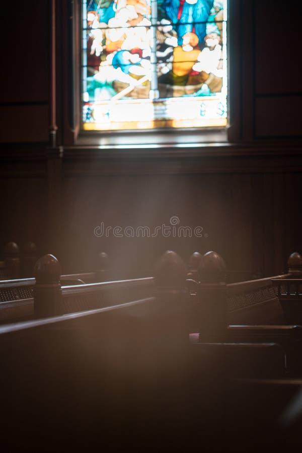 波士顿领港教会 免版税库存图片
