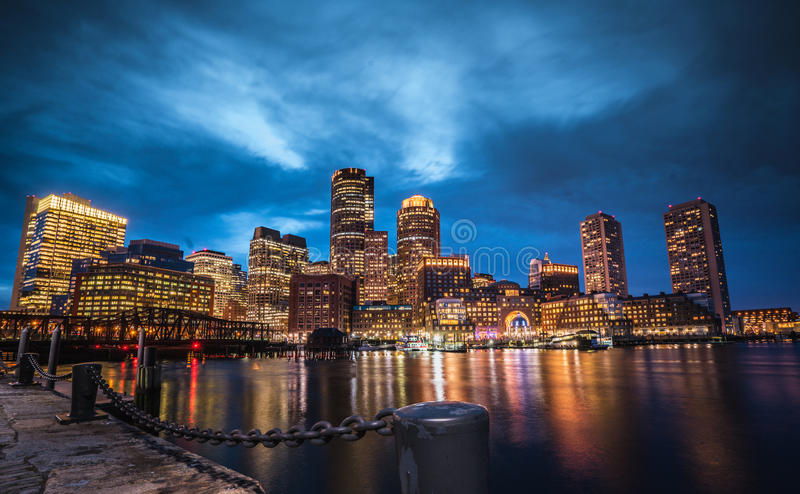 波士顿领港教会 免版税图库摄影