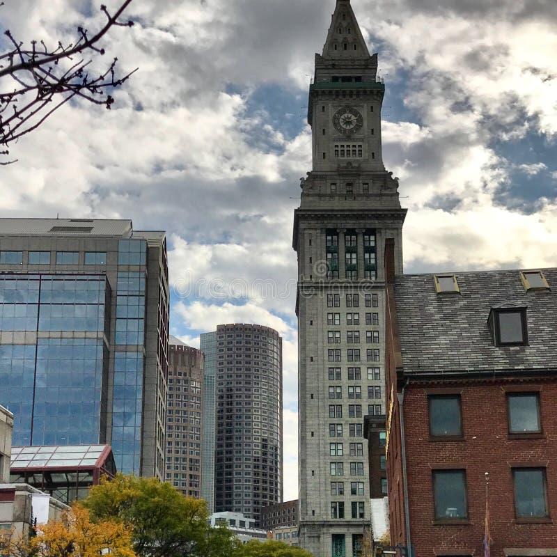 波士顿马萨诸塞建筑学 库存图片