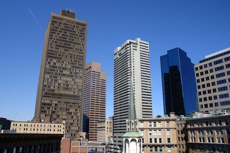 波士顿,马萨诸塞,美国的储蓄图象 免版税库存照片