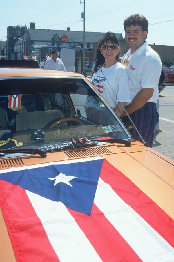 波多黎各人夫妇 免版税库存图片