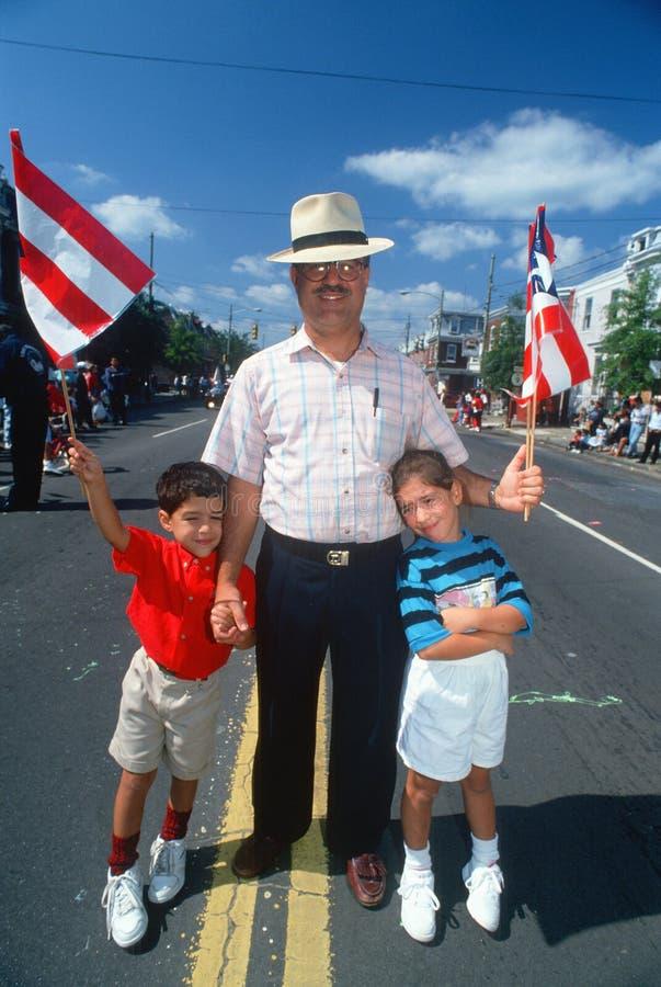 波多黎各人节日 库存照片