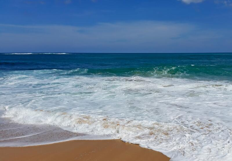 波多黎各圣胡安海滩 库存照片