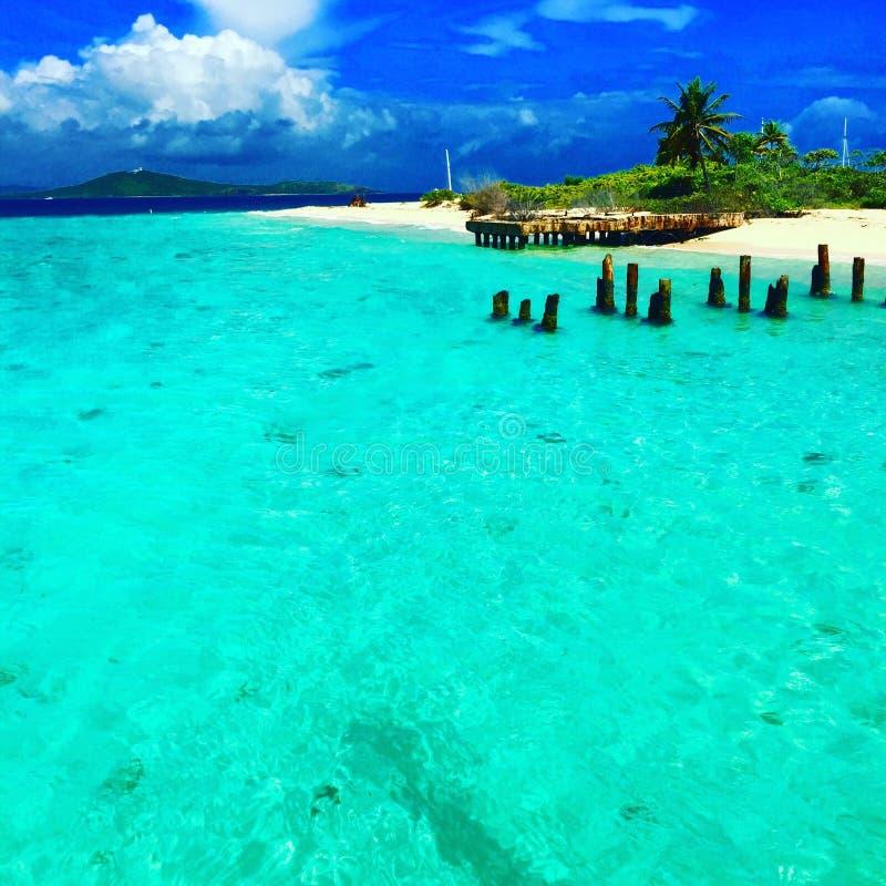 波多黎各海岛 免版税库存照片