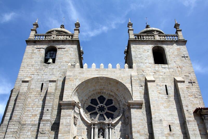 波尔图大教堂 库存图片