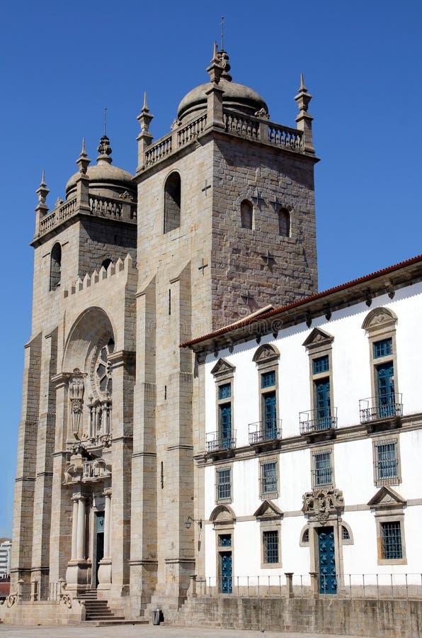 波尔图大教堂 免版税库存照片