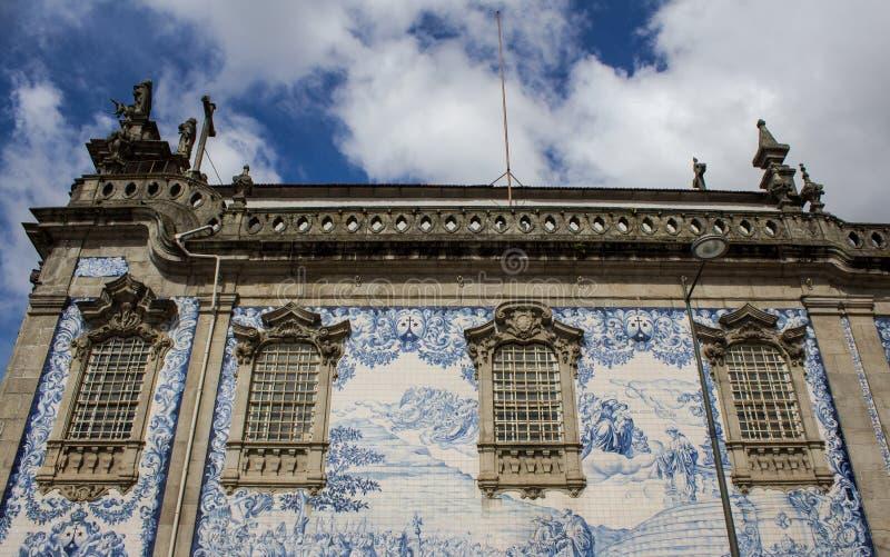 波尔图奥尔德敦地标 参观葡萄牙概念 免版税库存照片