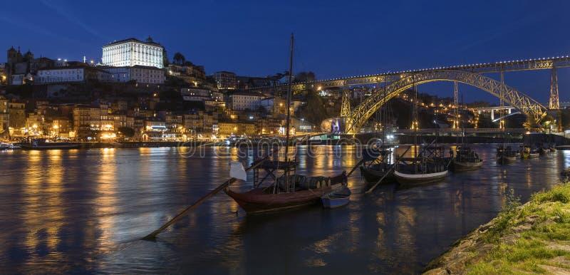 波尔图或波尔图-葡萄牙 库存照片