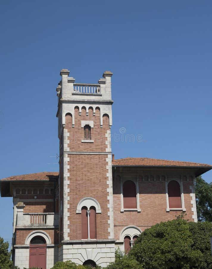波尔图波滕扎皮切纳3月,意大利:老房子 免版税库存图片