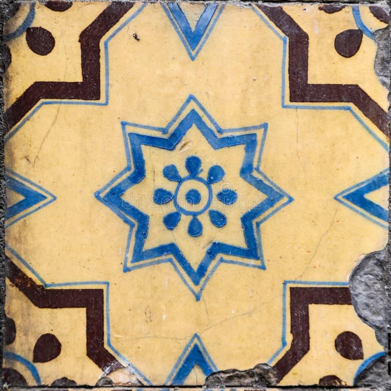 从波尔图的传统瓦片 免版税库存图片