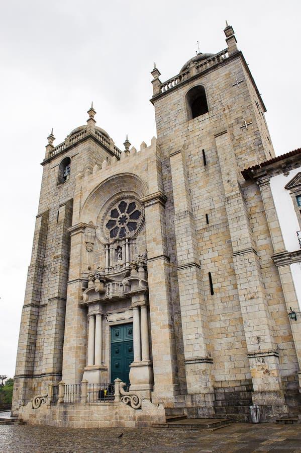 波尔图,葡萄牙建筑学  免版税库存图片