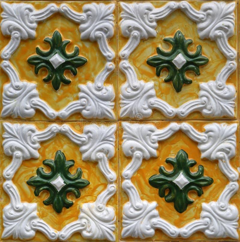 从波尔图,葡萄牙的传统瓦片 免版税库存图片