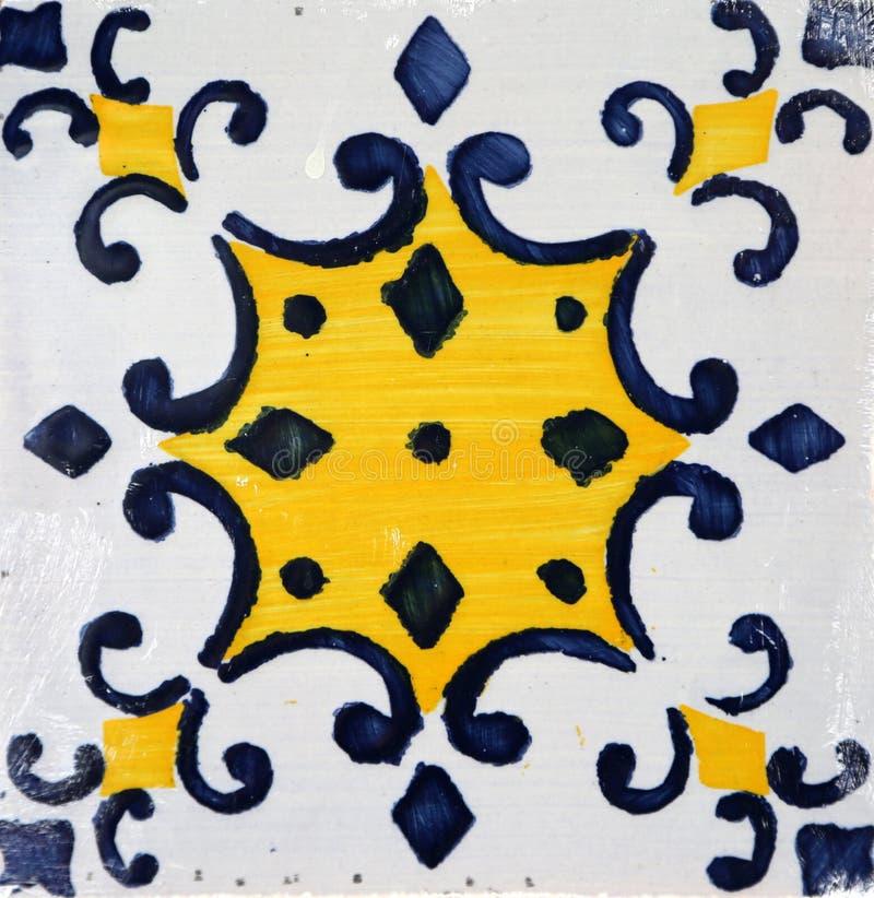 从波尔图,葡萄牙的传统瓦片 免版税库存照片