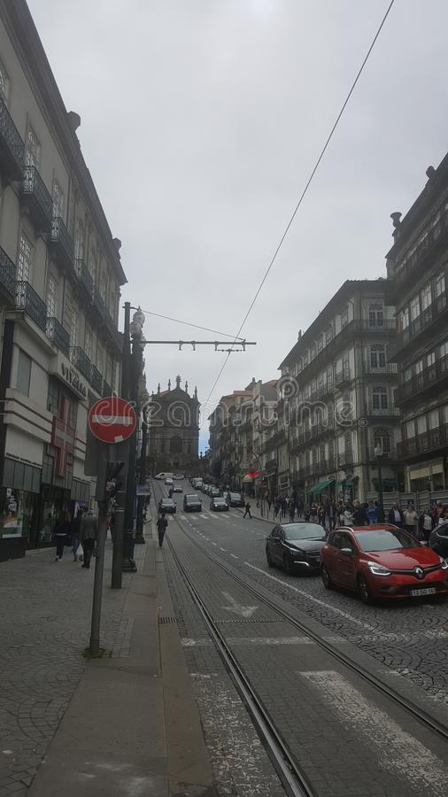 波尔图,葡萄牙的图片 免版税库存图片