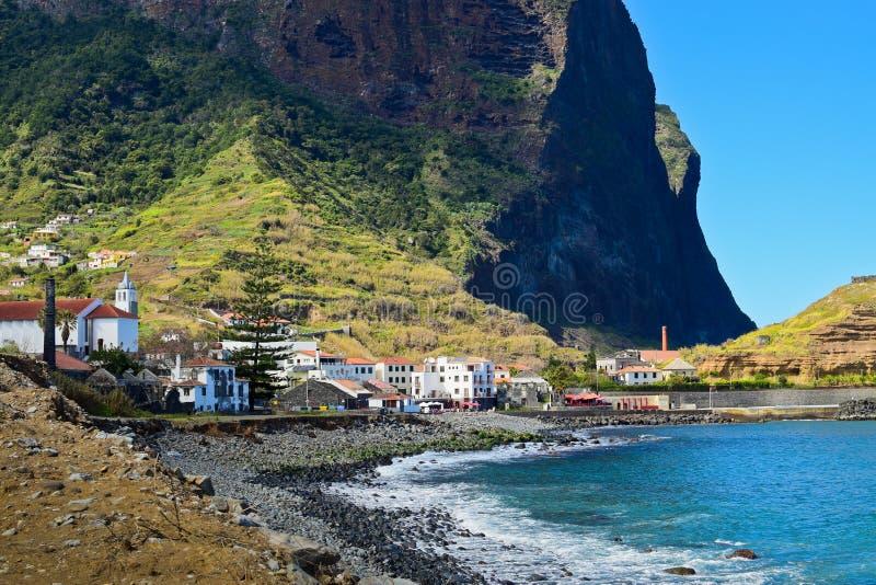 波尔图sprigtime的da Cruz,马德拉岛 免版税库存照片