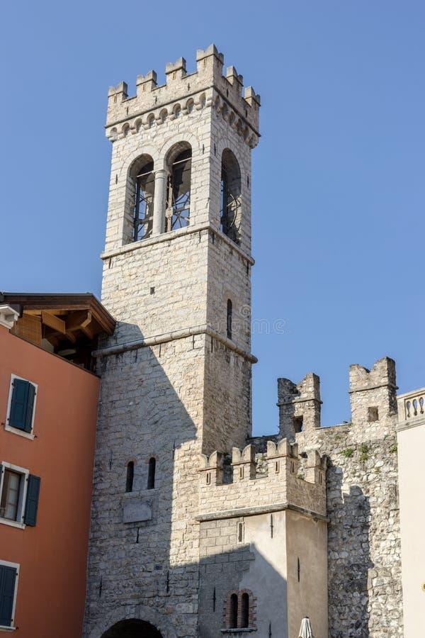 波尔塔圣米谢勒在里瓦在意大利 免版税库存图片