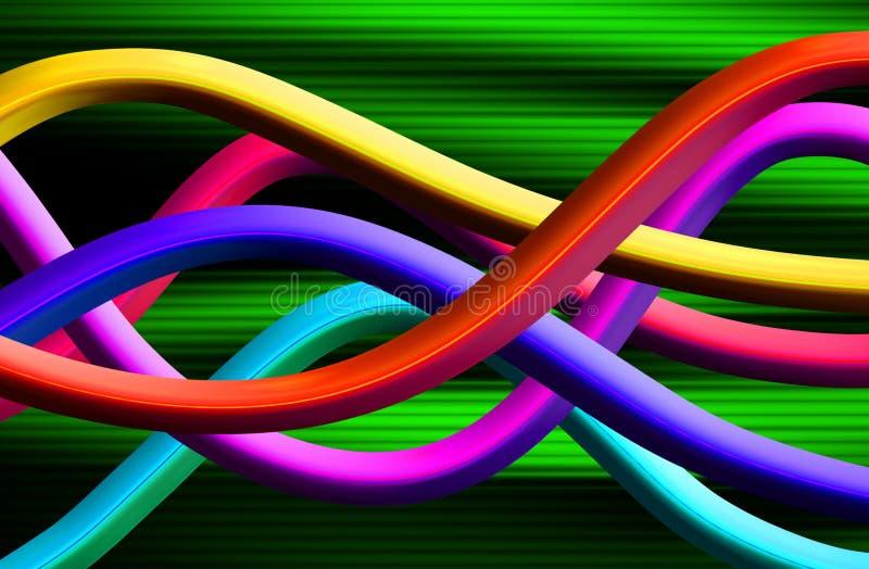 波形形式347 向量例证