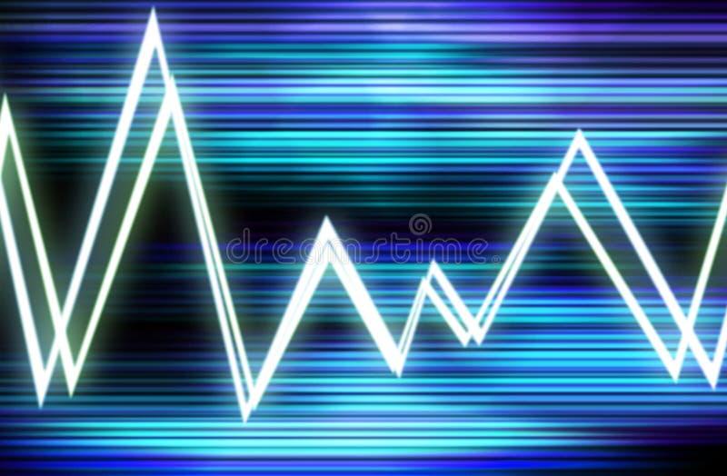 波形形式8 向量例证