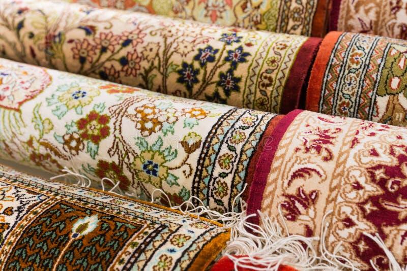 波斯地毯 免版税图库摄影