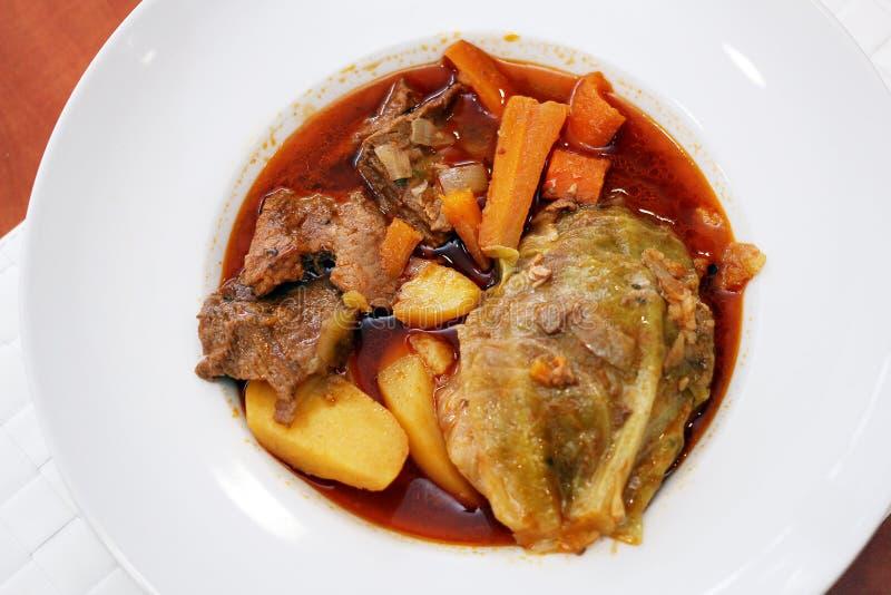 波斯尼亚的传统食物 库存照片